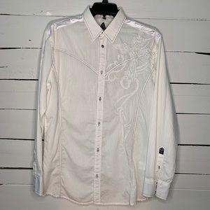 Roar Western Shirt Size XL